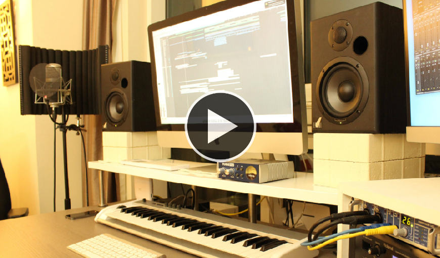 BAPTISTE SAUNIER EXPLAINS ABOUT HIS STUDIO SET-UP AND MORE!