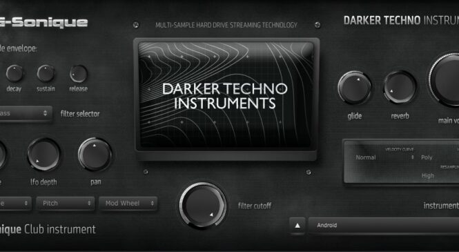 G-Sonique releases Darker Techno Instruments plug-in & bank for Win & Mac
